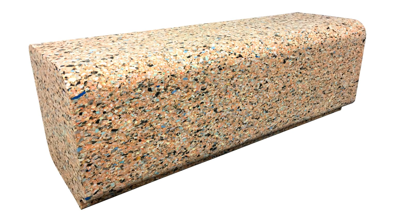 r:eco recycled foam bench